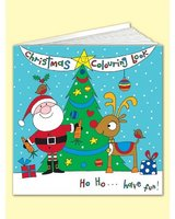 Christmas Square Colouring Book